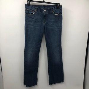 Lucky Brand Kaltex Mid Rise Flare Regular Jeans